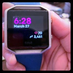 Fitbit blaze and accessories